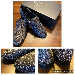 Adrianna Papell calf hair loafers